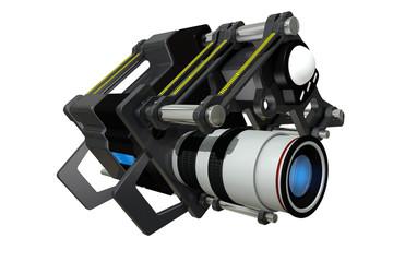The futuristic film camera