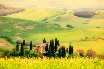 Spring in the Tuscany - fototapety na wymiar