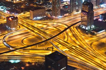 Intersection from Burj Khalifa