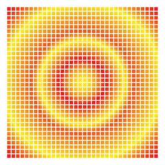 Mosaïque, fond, carré, graphique, couleur, lumineux