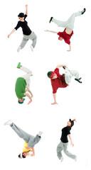 set  modern style dancer