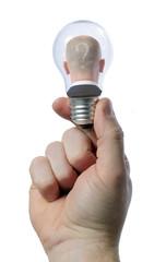 in light bulb