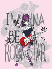 Rocker in lace