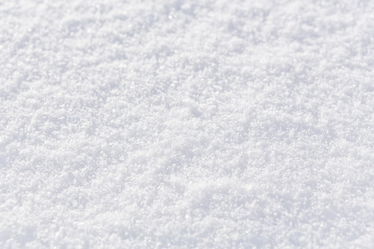 snow texture background, natural white snow powder in winter