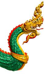 Green big snake