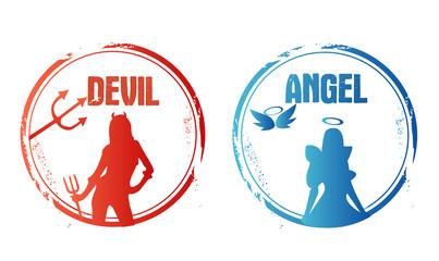 timbre ange ou diable