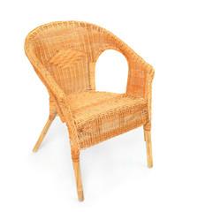 Wicker chair - handmade garden furniture.