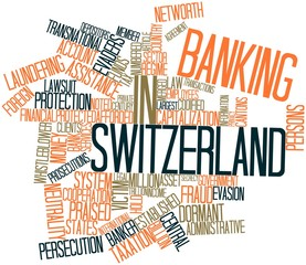 Word cloud for Banking in Switzerland