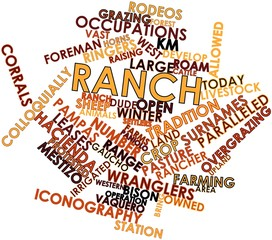 Word cloud for Ranch
