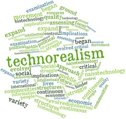 Word cloud for Technorealism