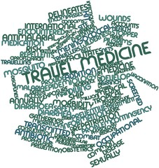 Word cloud for Travel medicine