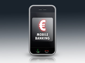 """Smartphone """"Mobile Banking"""""""