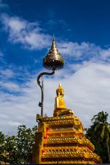 Golden bhudda image