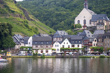 the famous Village of Beilstein,Mosel Valley