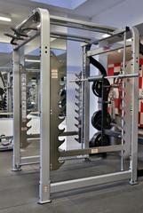 Salle de musculation.