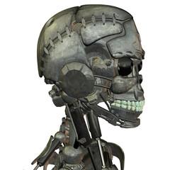 Kopf von einem Roboter