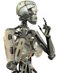 weibliche Roboter Konstruktion