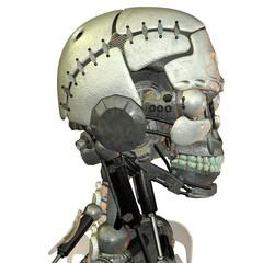Kopf von einem Androiden