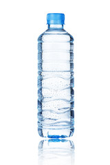 water bottle with water drop