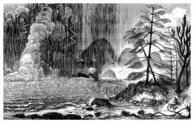 Prehistoric Landscape - Permian - Permien