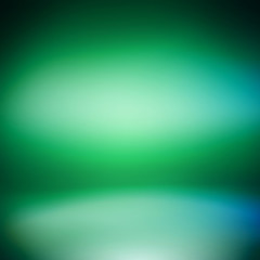Creative technological Irish color background. Inside an empty r
