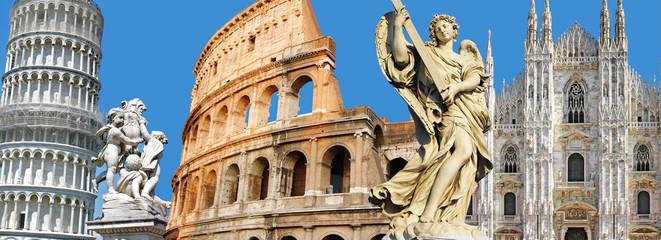 Poster Rome greatest Italian landmarks