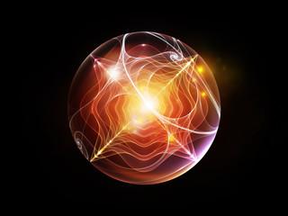Fractal Sphere Arrangement