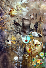 Wall Murals Imagination Carnival show