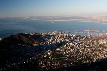 Ville du Cap en Afrique du Sud