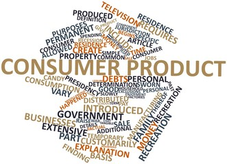 Word cloud for Consumer product