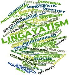 Word cloud for Lingayatism