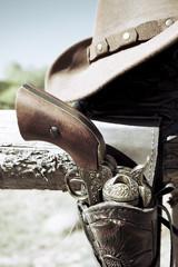 crop of cowboy gun
