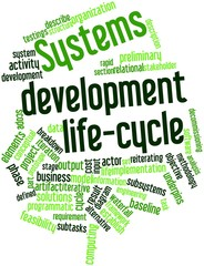 Word cloud for Systems development life-cycle