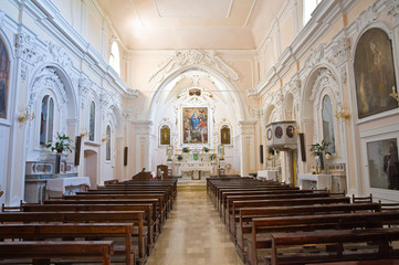 Church of St. Nicola in Plateis. Scalea. Calabria. Italy.