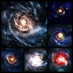 Space collage