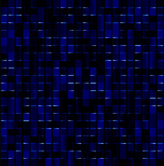 dark blue magical mosaic