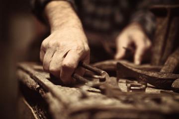 cobbler at work