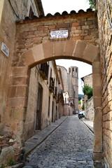 Acceso al Monasterio de Pedralbes