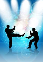 Karate warriors