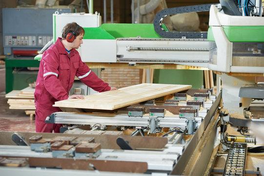 closeup carpentry wood cross cutting