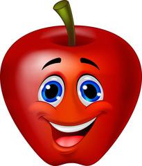 Apple cartoon character