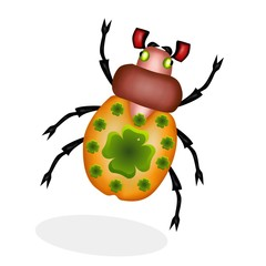 scarabeo tatuato