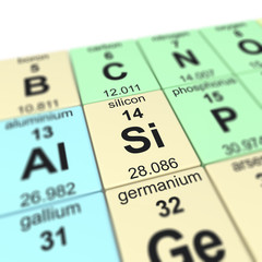 Table of elements_Silicon