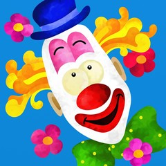 clown colorato