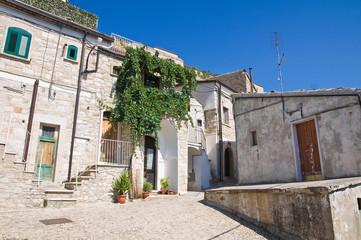 Alleyway. Sant'Agata di Puglia. Puglia. Italy.