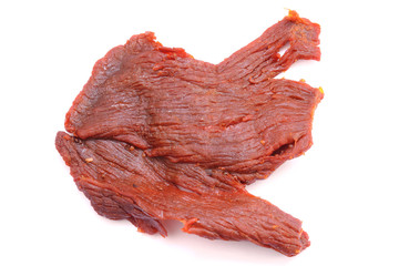 fried salted beef