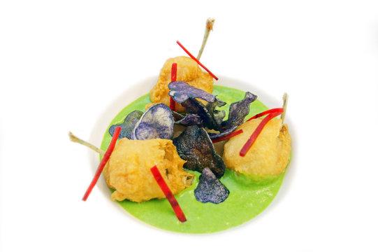 cuisses de grenouilles en tempura  # 30