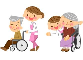 介護士 女性