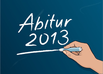 Tafelschrift: Abitur 2013