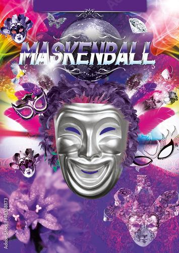 Maskenball Flyer Stockfotos Und Lizenzfreie Bilder Auf Fotolia Com